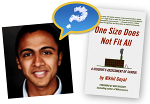 Nikhil Goyal with new book