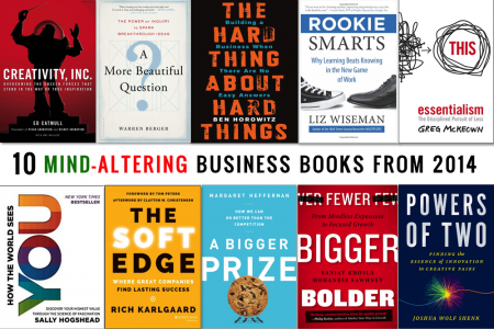 10 Mind-Altering Business Books from 2014