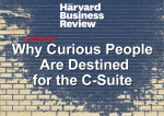 The Rise of the Curious Leader