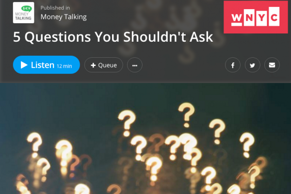 Interview: 5 Questions You Shouldn't Ask