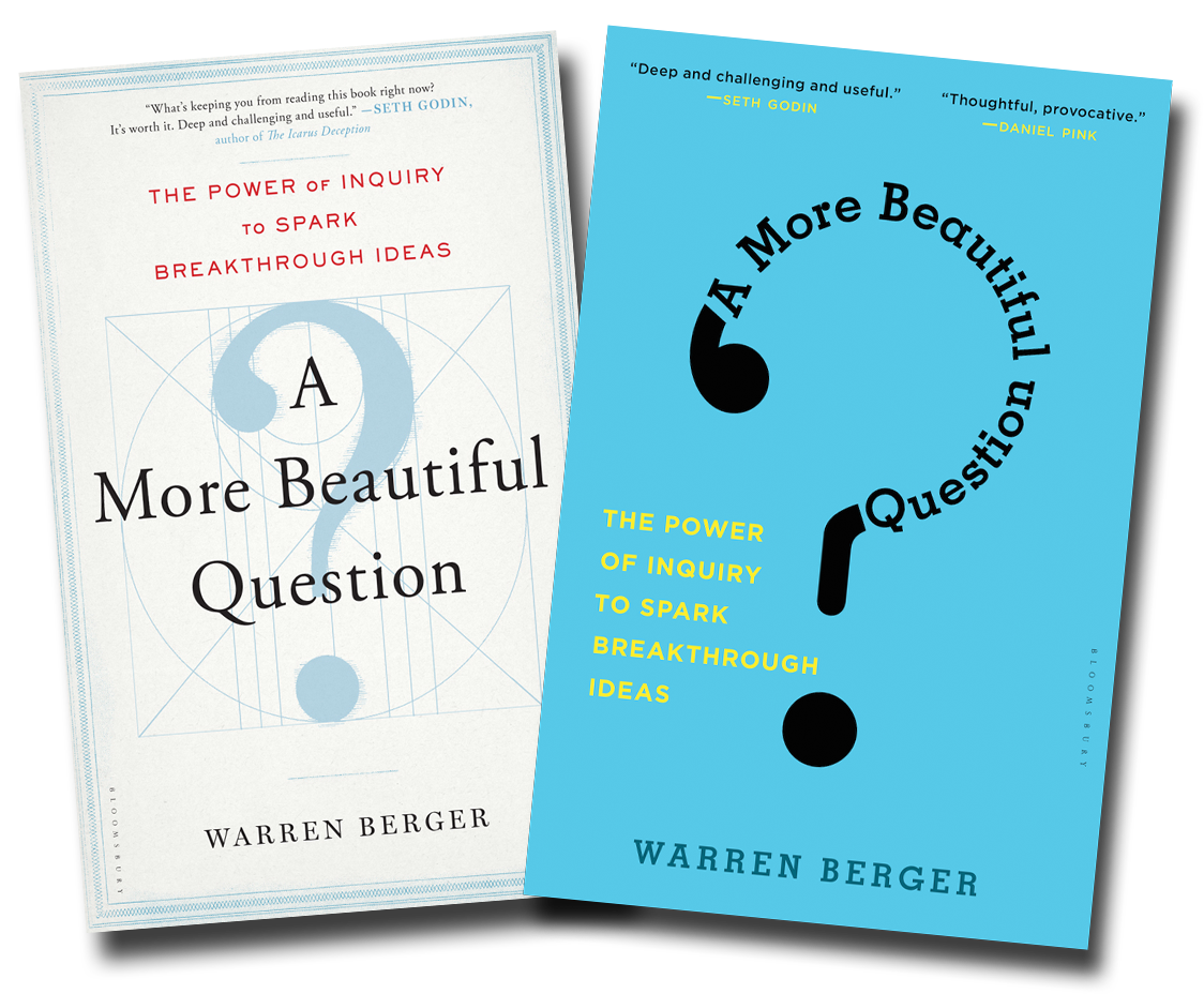 A More Beautiful Question-Hardcover-Paperback