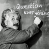 Einstein and questioning