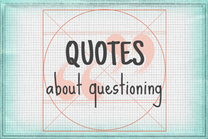 Quotes About Questioning