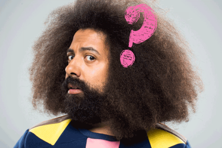 The inquiring mind of Reggie Watts: A Top 12 list of his questions